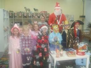 Kalėdų Senelis pas mažiausius (1)