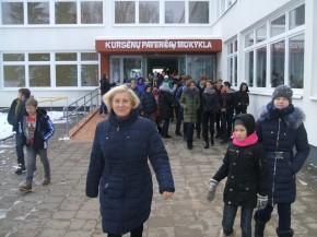 mokykloje vyko civilinės saugos pratybos (1)